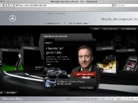 thumbnail image of Mercedes Benz Presents an Interactive Web Special
