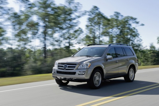 Mercedes-Benz R, ML, and GL 320 BlueTEC