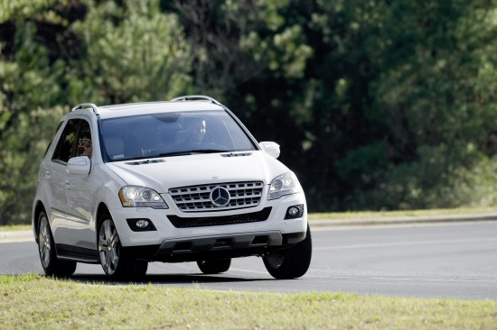 Mercedes-Benz R, ML, and GL 320 BlueTEC