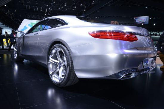 Mercedes-Benz S-Class Coupe Detroit