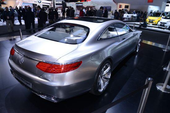 Mercedes-Benz S-Class Coupe Detroit