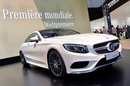 Mercedes-Benz S-Class Coupe Geneva
