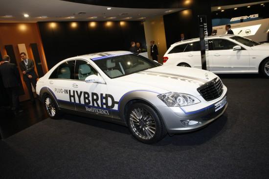 Mercedes-Benz S-Class Hybrid Frankfurt