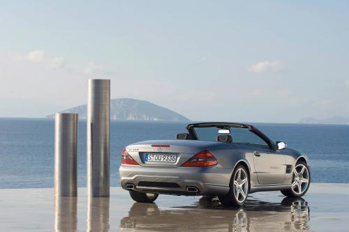 Internet Auto Award 2008: Mercedes-Benz SL самых популярных в Европе родстер