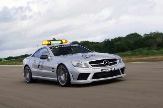 Mercedes-Benz SL 63 AMG Safety Car