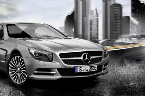Оригинальные аксессуары для автомобилей Mercedes-Benz SL