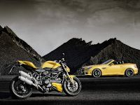 Mercedes-Benz SLK 55 AMG and Ducati Streetfighter 848, 4 of 4
