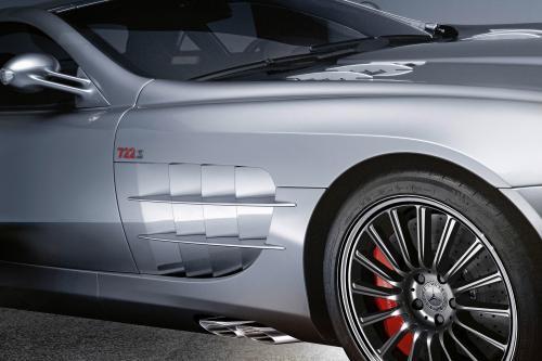 Mercedes-Benz SLR McLaren Roadster 722 S: захватывающие высокопроизводительный родстер