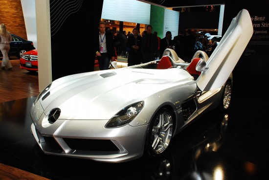 Mercedes-Benz SLR Stirling Moss Detroit