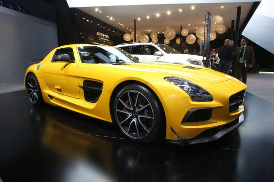 Mercedes-Benz SLS AMG Black Series Detroit