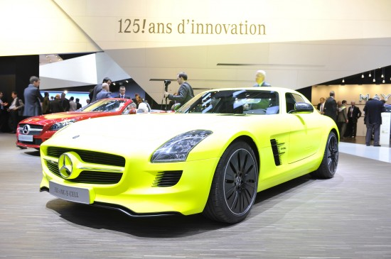 Mercedes-Benz SLS AMG E-CELL Geneva