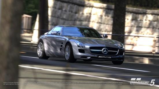 Mercedes-Benz SLS AMG in Gran Turismo 5