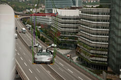 Новый Gullwing в Музее Mercedes-Benz