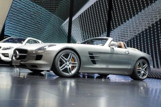 Mercedes-Benz SLS AMG Roadster Frankfurt