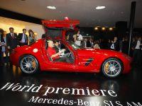 Mercedes-Benz SLS Gullwing Frankfurt 2009, 5 of 10
