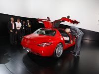 Mercedes-Benz SLS Gullwing Frankfurt 2009, 3 of 10