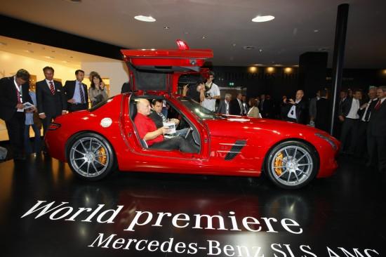 Mercedes-Benz SLS Gullwing Frankfurt
