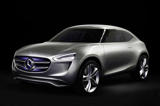 Mercedes-Benz Vision G-Code Concept