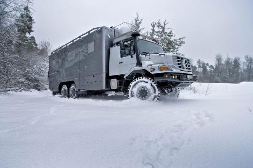 Mercedes-Benz Zetros 6X6 грузовик