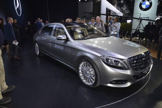Mercedes-Maybach S600 Los Angeles