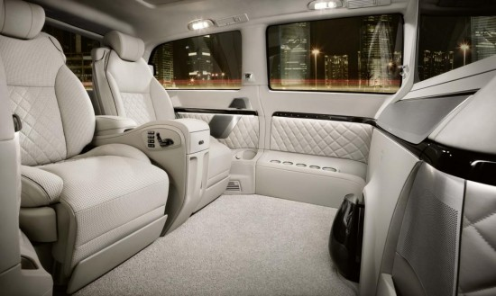 Mercedes Viano Vision Diamond Concept