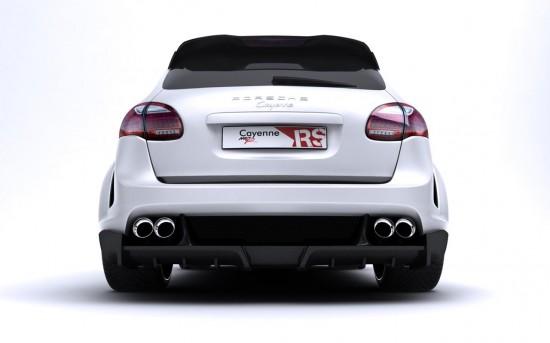 MET-R Porsche Cayenne II Radical Star