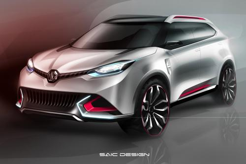 MG CS Urban SUV Concept, будет представлен в Шанхае