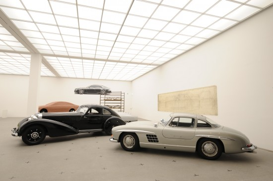 Milestones Automotive Design - Example Mercedes-Benz