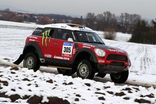 MINI Countryman ALL4 Dakar Challenger