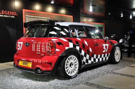 MINI Cooper Works Rally Car Geneva