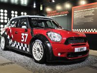 thumbnail image of MINI Cooper Works Rally Car Geneva 2011