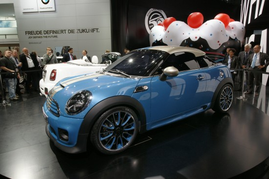 MINI Coupe Concept Frankfurt
