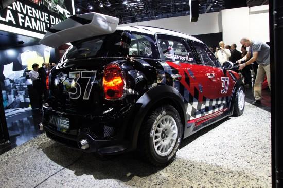 MINI WRC Paris