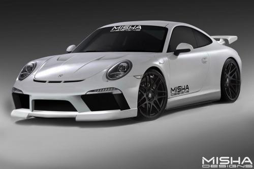 Миша конструкции Порше 911 на SEMA
