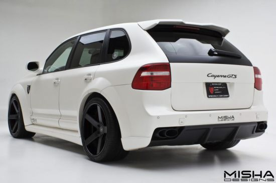 Misha Designs Porsche Cayenne II Wide-body