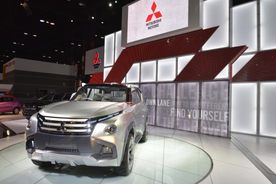 Mitsubishi Concept GC-PHEV Chicago