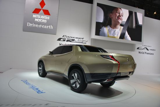 Mitsubishi Concept GR-HEV Geneva