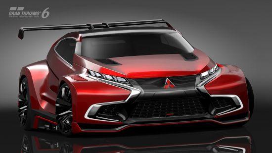 Mitsubishi Concept XR-PHEV Evolution Vision Gran Turismo