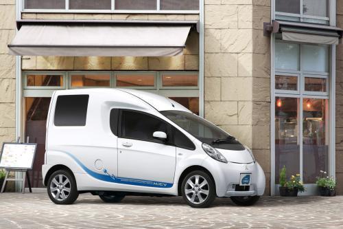 2010 Mitsubishi i-MiEV CARGO - электропривод транспортного средства