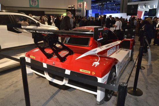 Mitsubishi i-MiEV Evolution Los Angeles