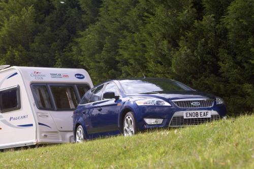 Ford Mondeo занимает Caravan Club Towcar отличием второй год