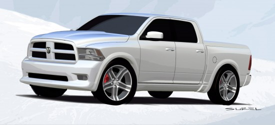 Mopar Dodge Ram Bianco SEMA