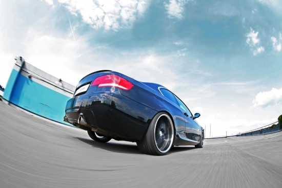 MR Car Design BMW 335i Black Scorpion
