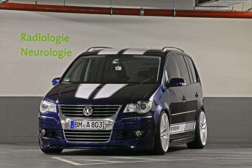 MR Car Design показывает изысканный спортивный VW Touran