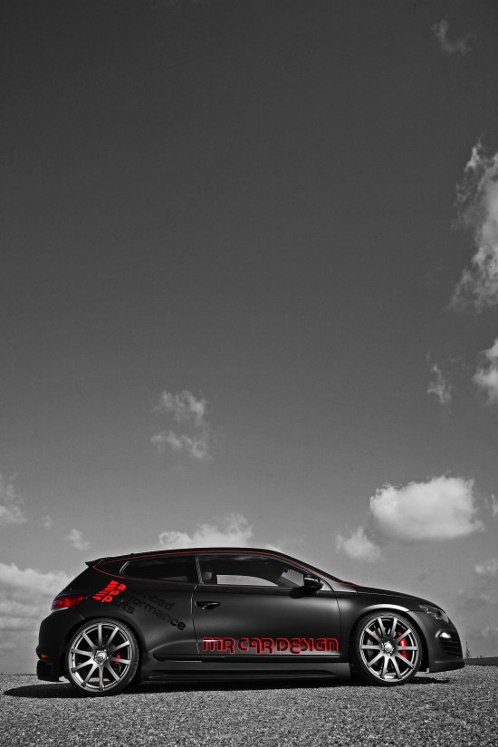 MR Car Design VW Scirocco Black Rocco