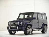 Mystic Blue Brabus Widestar Mercedes-Benz G63, 2 of 10