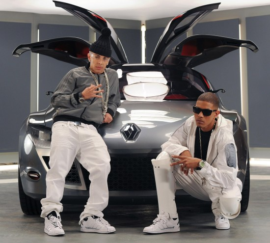 N-Dubz featuring Renault Megane Coupe-Concept