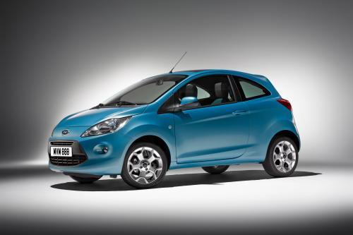 Новый Ford Ka Делает Мировой Дебют На Парижском Автосалоне