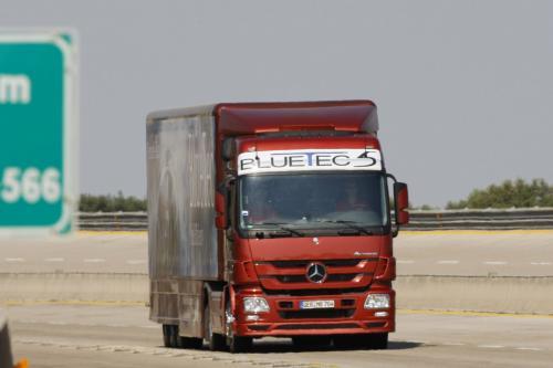 Mercedes-Benz Actros в Книгу рекордов Гиннеса