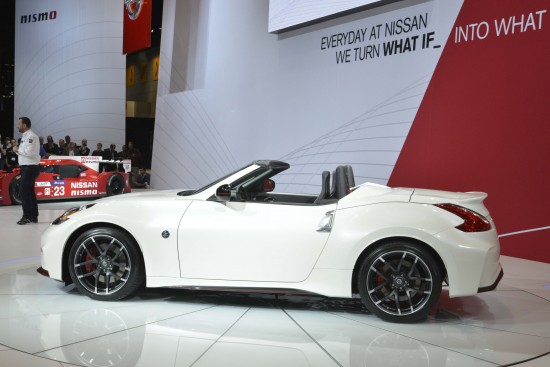 Nissan 370Z NISMO Roadster Concept Chicago
